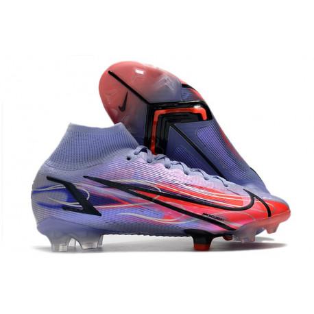 Nike Magista Obra AG ACC - Meilleure Chaussures De Football Bleu Blanc Rouge