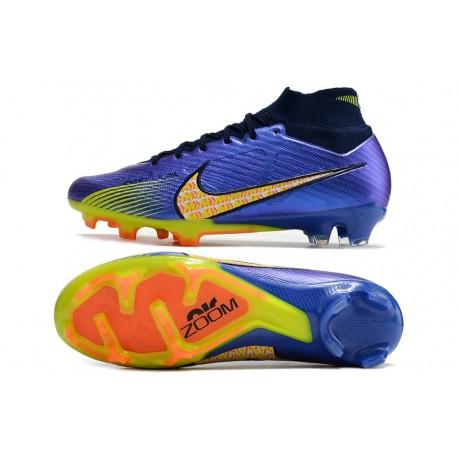 Chaussure à Crampons 2016 Nike Magista Obra BHM FG ACC Noir Blanc