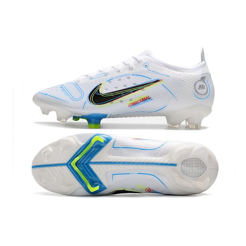 38b0a6668e6 Chaussure Football Nike Mercurial Superfly AG Gazon Artificiel Gris Loup  Rose