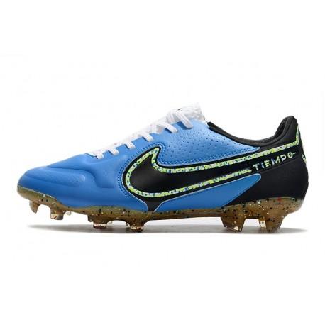 Nike Nouvelle Crampons Football Magista Obra FG ACC Homme Volt Bleu Blanc