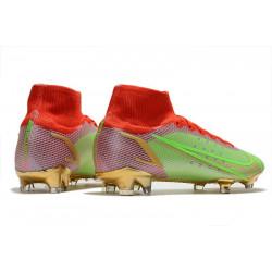 Nike Magista Obra AG ACC - Meilleure Chaussures De Football Noir Vert Blanc