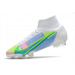 Nike Magista Obra AG ACC - Meilleure Chaussures De Football Orange Violet Noir
