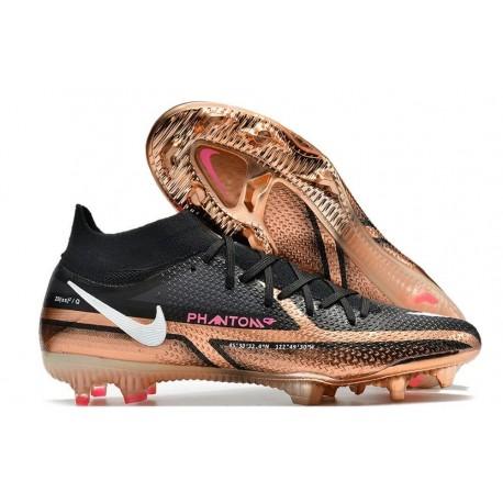 Meilleures Chaussure Nike Magista Obra FG Noir Or