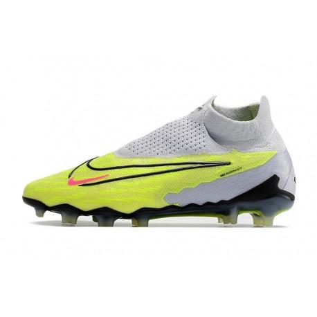 Chaussures de Foot nouvelles Nike Mercurial Superfly FG ACC Jaune Orange Blanc