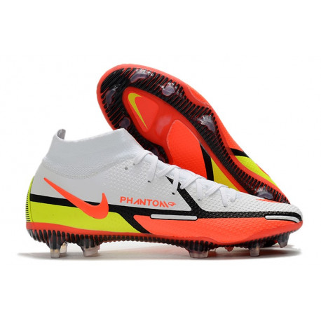 Chaussures Football Meilleur Nike Mercurial Superfly FG ACC Hyper Punch Or Noir